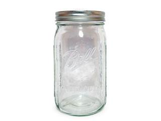 Ball Mason Jar [ボール メイソンジャー] Wide Mouth Jar 32oz