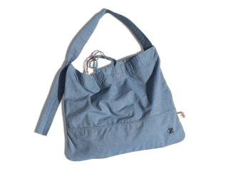W.Z.SAC [ダブリュ・ズィー・サック] GLOSTER V SHOULDER BAG/BLUE CHAMBRAY