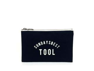 SUNDAYS BEST [サンデイズ ベスト] MINI TOOL BAG/BLACKxWHITE