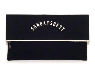 SUNDAYS BEST [サンデイズ ベスト] CLUTCH BAG/BLACKxWHITE