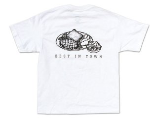 SUNDAYS BEST [サンデイズ ベスト] STEAK TEE/WHITE