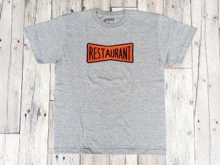 RESTAURANT [レストラン] RIBBON LOGO  TEE