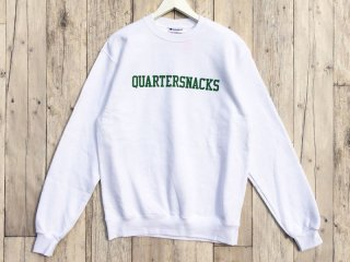 QUARTER SNACKS [クウォータースナックス]  PRESEASON CREWNECK