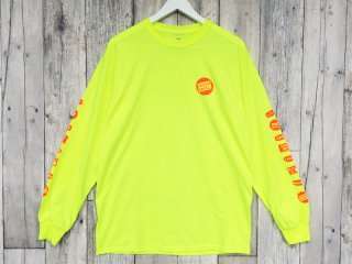 MANAGER'S SPECIAL [マネージャーズスペシャル] GROCERY LABEL LONG SLEEVE TEE