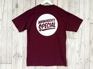 MANAGER'S SPECIAL [マネージャーズスペシャル] LOGO TEE