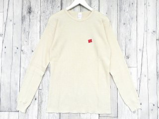 SUNDAYS BEST [サンデイズ ベスト] TACOS COTTON THERMAL L/S TEE/NATURAL