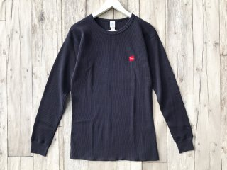 SUNDAYS BEST [サンデイズ ベスト] TACOS COTTON THERMAL L/S TEE/NAVY