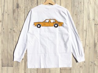LURK NYC [ラーク] NYC TAXI LONG SLEEVE TEE/WHITE