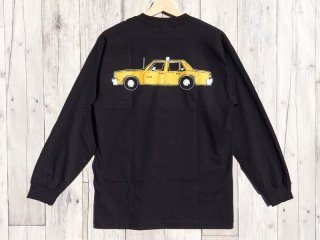LURK NYC [ラーク] NYC TAXI LONG SLEEVE TEE/BLACK