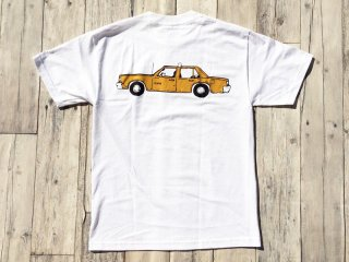 LURK NYC [ラーク] NYC TAXI TEE/WHITE