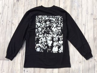 LABOR [レイバー] THROWBACK WORKERS LONGSLEEVE TEE/BLACK