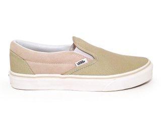 VANS [バンズ] CLASSIC SLIP-ON/PALE KHAKI