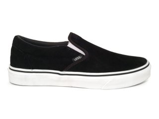 VANS [バンズ] CLASSIC SLIP-ON/BLACK SUEDE