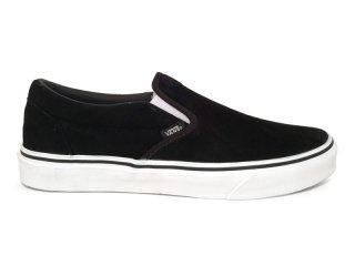 VANS [バンズ] CLASSIC SLIP-ON/BLACK SUEDE