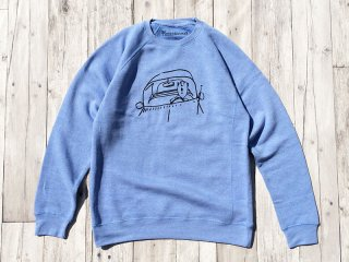 THE THURSDAYMAN [サースデイマン] Road Tripper Crewneck Sweat