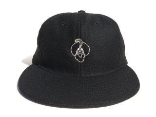 BEDLAM [べドラム] SULTAN EBBETS FIELD FLANNELS BASEBALL CAP/BLACK