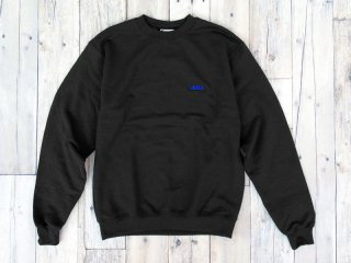 JHAKX [ジャークス] LOGO CREWNECK/BLACK