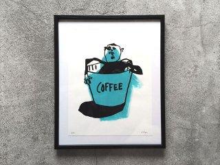 THE THURSDAYMAN [サースデイマン] Coffee Print
