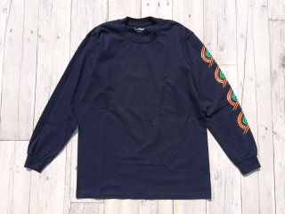 BEDLAM [べドラム] BLAZER LONG SLEEVE TEE/NAVY