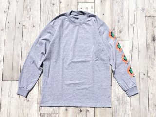 BEDLAM [べドラム] BLAZER LONG SLEEVE TEE/H.GREY