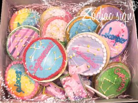 【数量限定】12星座のアイシングクッキーBOX【送料無料】