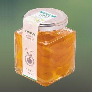 【常温】有機柚子を使用したPREMIUMゆずピール180g