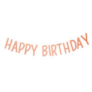 <img class='new_mark_img1' src='//img.shop-pro.jp/img/new/icons8.gif' style='border:none;display:inline;margin:0px;padding:0px;width:auto;' /><br>BRACKET <br>HAPPY BIRTHDAY パーティーバナー コーラル