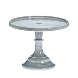 <br>MOSSER GLASS <br> ケーキスタンド マーブル/ MARBLE<br>【送料無料】