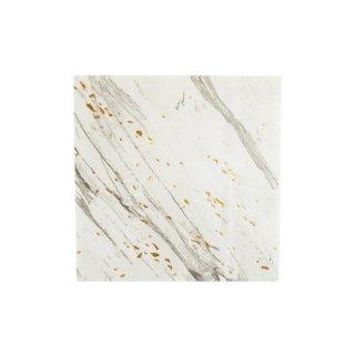 <br>HARLOW & GREY<br>BLANC カクテルナプキン・ホワイトストライプ