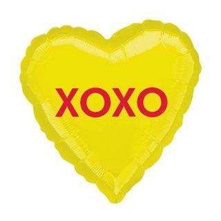 <br>AG <br>フォイルバルーン XOXO キャンディーハート 45cm