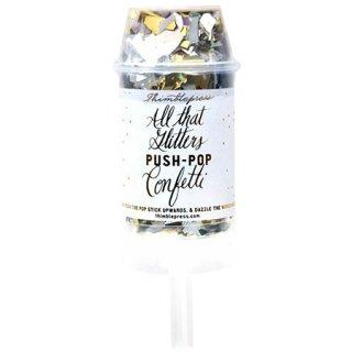 Thimblepress<br>グリッター プッシュポップ<br>コンフェッティ <br>GLITTER PUSH-POP CONFETTI™