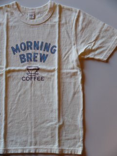 <img class='new_mark_img1' src='//img.shop-pro.jp/img/new/icons33.gif' style='border:none;display:inline;margin:0px;padding:0px;width:auto;' />UESウエス 『COFFEE』 Tシャツ ホワイト メール便可