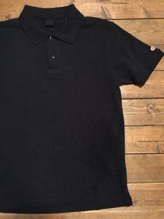 UESウエス 吊り鹿の子ポロシャツ ブラック