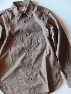 Workers/ワーカーズ Cigaret Pocket Shirt Brown Chambray<img class='new_mark_img2' src='//img.shop-pro.jp/img/new/icons15.gif' style='border:none;display:inline;margin:0px;padding:0px;width:auto;' />