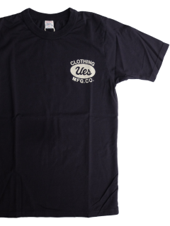 <img class='new_mark_img1' src='https://img.shop-pro.jp/img/new/icons15.gif' style='border:none;display:inline;margin:0px;padding:0px;width:auto;' />UESウエス『UES CLOTHING MFG.CO. 』スーピマコットン半袖Tシャツ ブラック