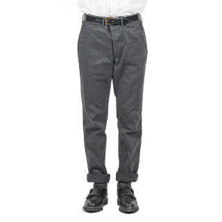 <img class='new_mark_img1' src='//img.shop-pro.jp/img/new/icons15.gif' style='border:none;display:inline;margin:0px;padding:0px;width:auto;' />Workers/ワーカーズ  『Officer Trousers Slim Type 2 オフィサートラウザースリム』コットンサージグレイ