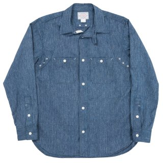 Workers/ワーカーズ 『MFG Shirt/ミルトン・F・グットマンシャツ  』クラシックワークシャツ Blue Covertブルーコバート<img class='new_mark_img2' src='//img.shop-pro.jp/img/new/icons15.gif' style='border:none;display:inline;margin:0px;padding:0px;width:auto;' />