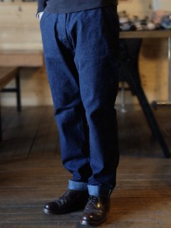 <img class='new_mark_img1' src='//img.shop-pro.jp/img/new/icons15.gif' style='border:none;display:inline;margin:0px;padding:0px;width:auto;' />Workers/ワーカーズ  『Raw Denim Trousers』10.5 oz Right Hand Denim ローデニムトラウザー