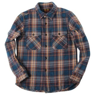 <img class='new_mark_img1' src='//img.shop-pro.jp/img/new/icons15.gif' style='border:none;display:inline;margin:0px;padding:0px;width:auto;' />UES/ウエス『Extra Heavy Flannel Shirt/エクストラヘビーネルシャツ』エクストラヘビーネルシャツ NAVY ネイビー 2019AW