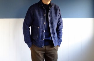 <img class='new_mark_img1' src='https://img.shop-pro.jp/img/new/icons15.gif' style='border:none;display:inline;margin:0px;padding:0px;width:auto;' />TCBjeans/TCBジーンズ『TCB Pleated Blouse/デニムプリーツブラウス』デニムジャケット