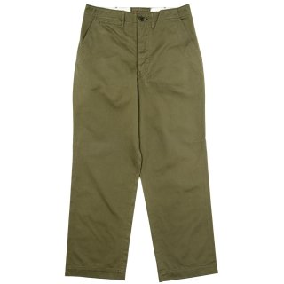 <img class='new_mark_img1' src='//img.shop-pro.jp/img/new/icons15.gif' style='border:none;display:inline;margin:0px;padding:0px;width:auto;' />Workers/ワーカーズ  『Officer Trousers /オフィサートラウザー 』 Vintage, Type 1, ビンテージフィット Olive Chino/オリーブチノ