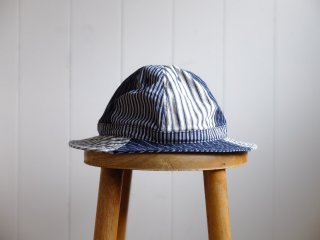 <img class='new_mark_img1' src='//img.shop-pro.jp/img/new/icons15.gif' style='border:none;display:inline;margin:0px;padding:0px;width:auto;' />HIGHER/ハイヤー『MULTI STRIPE HAT/マルチストライプハット』9oz Hickoryヒッコリー