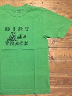 <img class='new_mark_img1' src='https://img.shop-pro.jp/img/new/icons15.gif' style='border:none;display:inline;margin:0px;padding:0px;width:auto;' />UESウエス 『DIRT TRACK』 半袖Tシャツ グリーン メール便可
