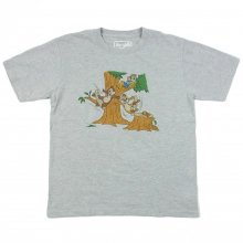 "BLUTH SKATEBOARDS ""CHIP & DALE"" TEE  -DISNEY COLLECTION-"