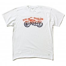 "AKA SIX simon barker × FRAGMENT DESIGN ""BIKE BOY TEE"""