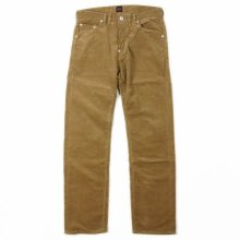 "THE OVERALLS ""1st CORDUROY PANTS"" beige"