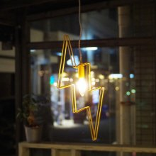 "yellow HAMMER ""THUNDER PENDANT LIGHT"""