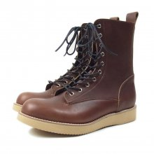 "THE COLOR ""FOUR STARS BOOTS by Tomo & co"" BROWN"