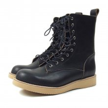 "THE COLOR ""FOUR STARS BOOTS by Tomo & co"" BLACK"