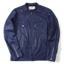 "THE FABRIC ""THE RIDERS JACKET indigo"""